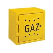 Osłona licznika gazu z tworzywa 240*600*600mm z plecami