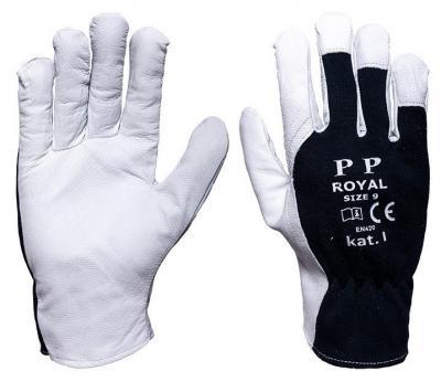Rękawice ze skóry koziej licowej rltoper/royal 11