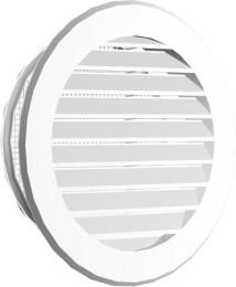 Kratka okragła fi80 115mm biała