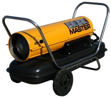 Nagrzewnica olejowa master b 150 ced bez odprowadz. spalin