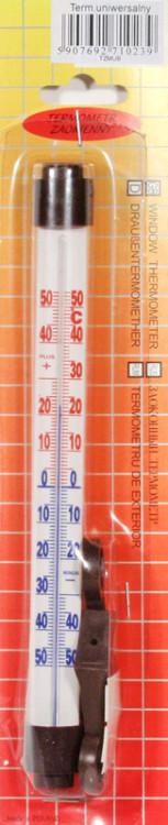 Termometr zaokienny uniwersalny mały