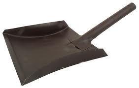 Szufelka do kurzu, trzonek metalowy