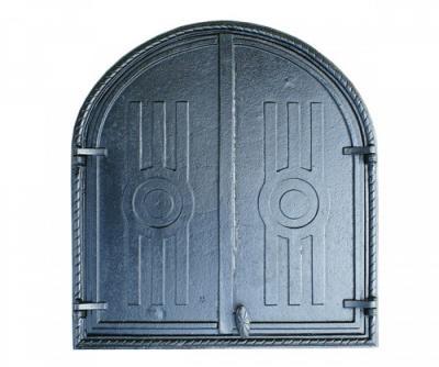 Drzwiczki żeliwne do wędzarni 60*56,5cm