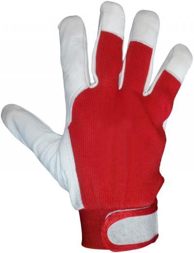 Rękawice skóra kozia rleverest/river ocieplane rozmiar 10