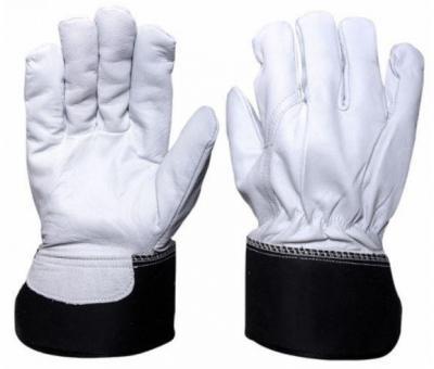 Rękawice ocieplane ze skóry koziej licowej mauro
