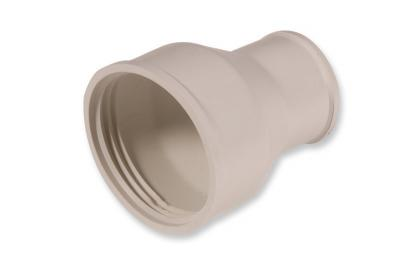 Lejek sedesowy dolnopłuka samozaciskowy gumowy biały