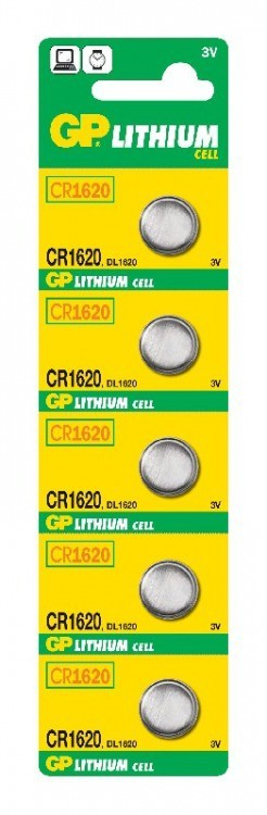 Bateria guzikowa litowa 3v cr1620