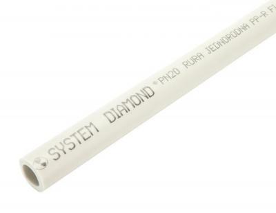 Rura pp-r jednorodna 4m, pn20, 40*6.7 mm - szt.