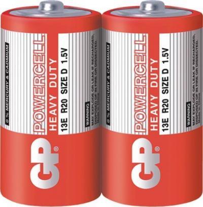Bateria powercell 1.5v r20 2 sztuki