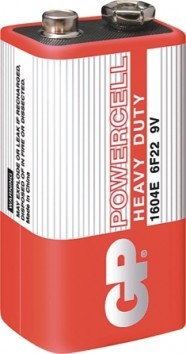 Bateria powercell 9.0v 6f22