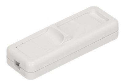 Wyłącznik suwakowy 1-torowy 2,5a/250v biały