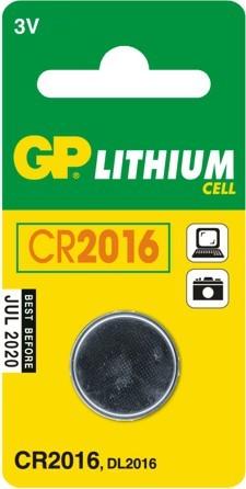 Bateria guzikowa litowa 3v cr2016
