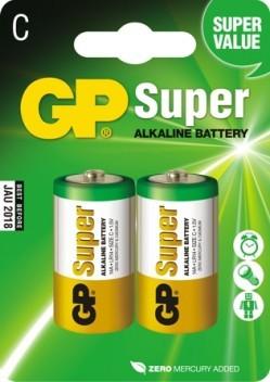 Bateria super alkaline lr14 1.5v 2 sztuki