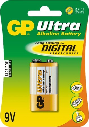 Bateria alkaline 1604au 9v