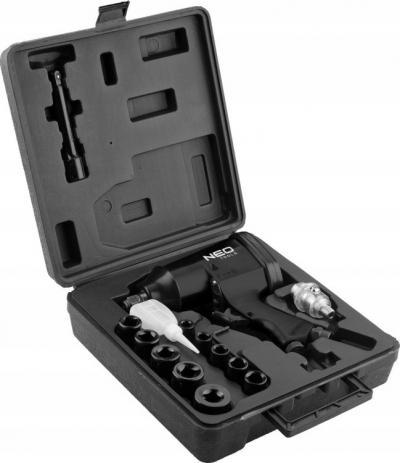 Pneumatyczny klucz udarowy 1/2'''' 320nm + nasadki