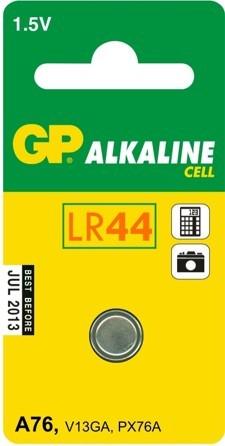 Bateria alkaliczna zegarkowa 1.5v a76, lr44, ag13