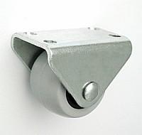 Koło meblowe tworzywo+guma 30mm obudowa stała m33t