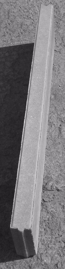 Obrzeże betonowe 6x20x100