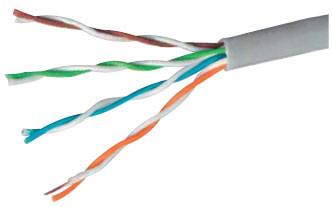Kabel teleinformatyczny u/utp 4x2x0,5 kat.5e