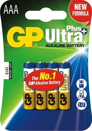 Bateria ultra+ alkaline lr3 aaa 1.5v 4szt
