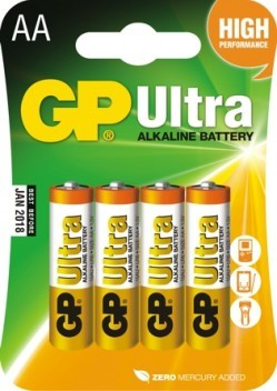 Bateria ultra alkaline aa lr6 1.5v 4 sztuki