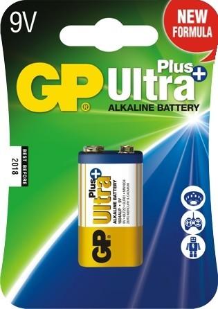 Bateria ultra+ alkaline 9v 6lf22