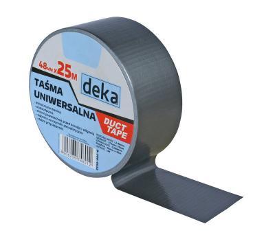Taśma uniwersalna duct tape silver 48mm*25m