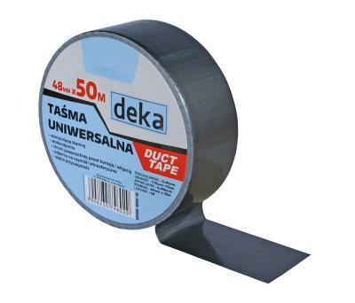 Taśma uniwersalna duct tape silver 48mm*50m