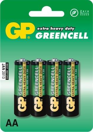 Bateria greencell 1.5v r6 4 sztuki