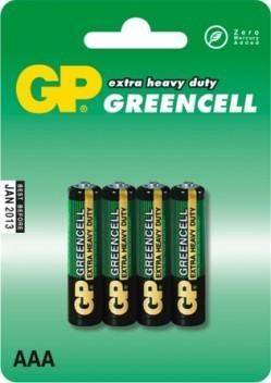 Bateria greencell 1.5v aaa r3 4 sztuki