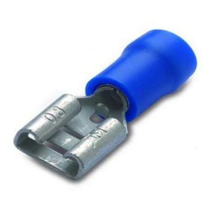Końcówka nasówka izo.nieb.2.5-6.3/0.8(10szt)zakres1.5-2.5mm2