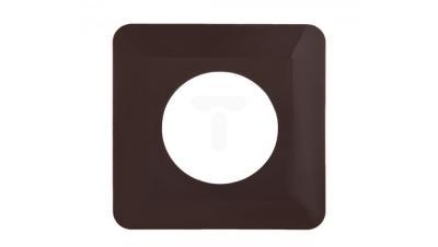 Osłona ściennna pod włącznik osx-910 130*130 brązowy