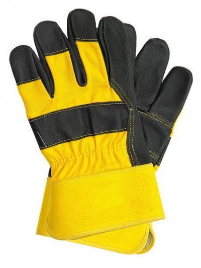 Rękawice wzmacniane skórą bydlęcą licowa rlcmż rlcm
