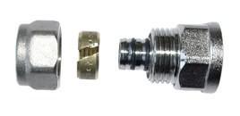 Złączka gwint wewnętrzny 1/2*16*2 wkładka aluminiowa