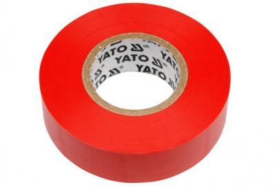 Taśma elektroizolacyjna 19mm*20m czerwona