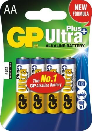 Bateria ultra+ alkaline aa lr6 1.5v 4 sztuki