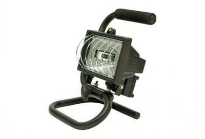 Reflektor halogenowy z uchwytem 400w