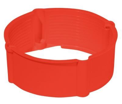 Pierścień dystansowy do puszek pk-60 24 mm czerwony ip20