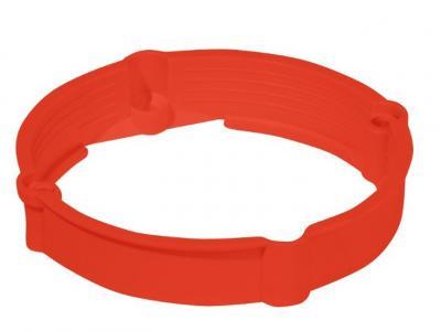 Pierścień dystansowy do puszek pk-60 12 mm czerwony ip20