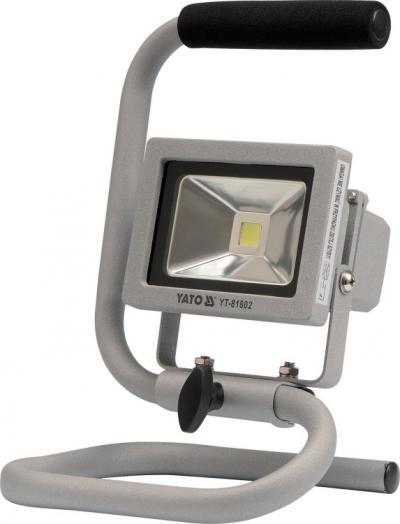 Reflektor diodowy przenośny 10w 700lm cob