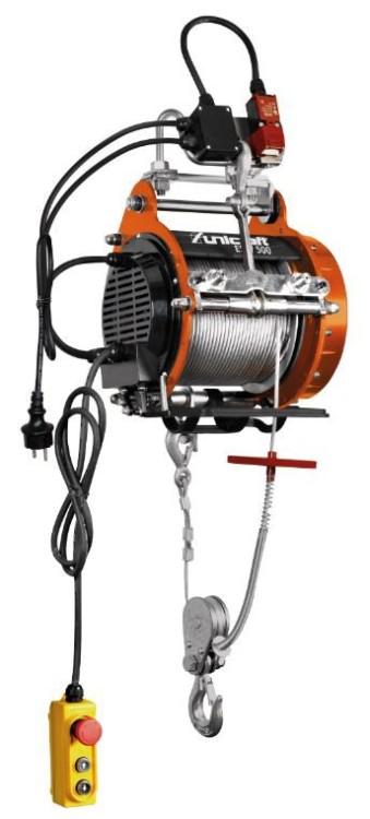 Wciągarka linowa elektryczna 500kg, 30m, esw 500