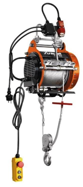 Wciągarka linowa elektryczna 800kg, 30m, esw 800