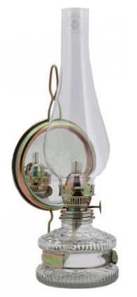 Lampa naftowa xl z lustrem 13cm/5