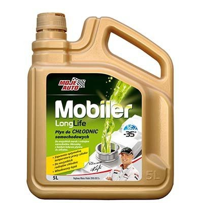 Mobiler płyn do chłodnic samochodowych zielony 5l