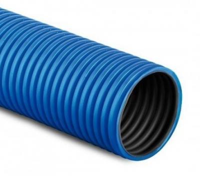 Rura osłonowa karbowana niebieska 50mm
