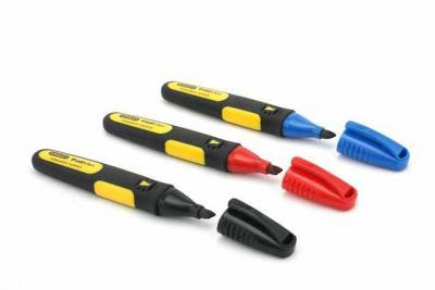 Markery fatmax 3 kolory stanley szeroka końcówka zestaw 3szt