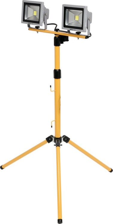 Reflektor diodowy 2*20w ze stojakiem 1400lm*2