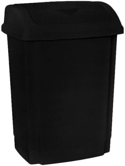 Pojemnik na odpady swing 15l pokrywa czarna