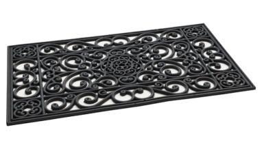Wycieraczka iron mat black 1 45*75cm