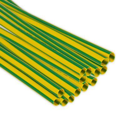 Rurka termokurczliwa 2,50/1,25 żółto-zielona